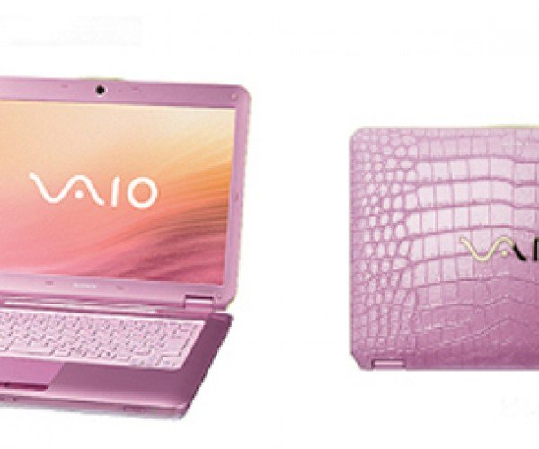 Sony Launches Vaio Cs Series of Notebooks, Cs Meaning Crocodile Skinned