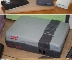 Video Console Cakes Offer a Little Something Old, a Little Something New…