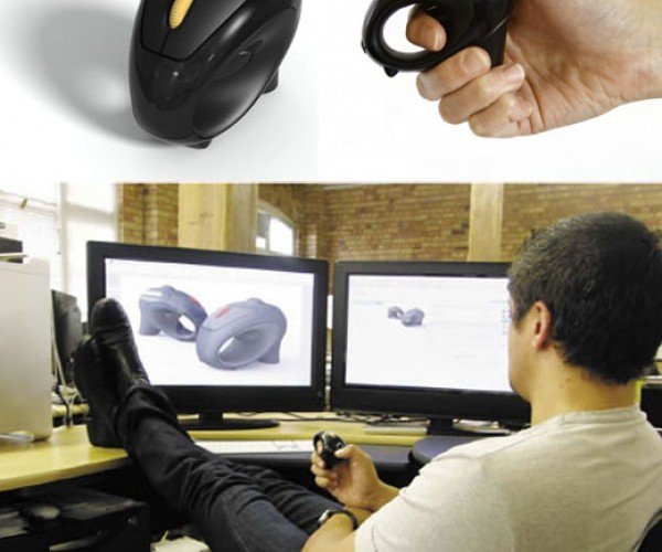 Weramouse Ergonomic Mouse Gets the Mouse Off the Desktop and Into Your Hands