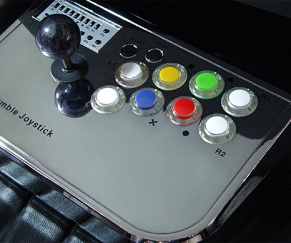 Xcm Rumble Joystick Gives PS3 Arcade Gaming a Serious Shake-Up