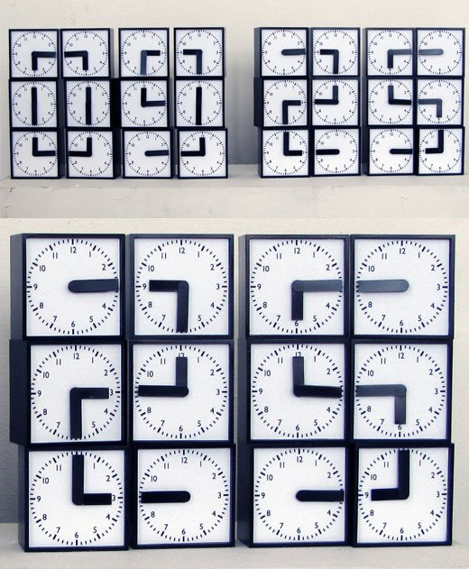 analog digital clock clock