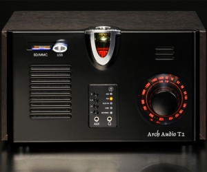 Arch Audio T2 Vacuum Tube Radio Plays Am, Fm, Mp3, Wma