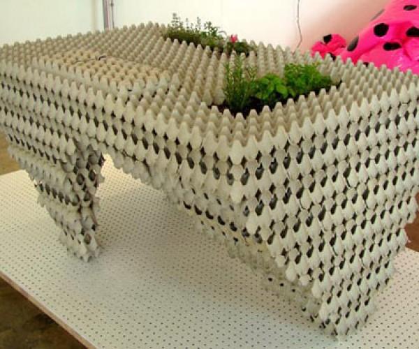 Auto-Cannibalistic Table: Environment-Friendly, Pocket-Unfriendly