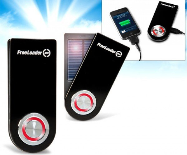 Freeloader Pro Solar Recharger Juices Up Your Gadgets