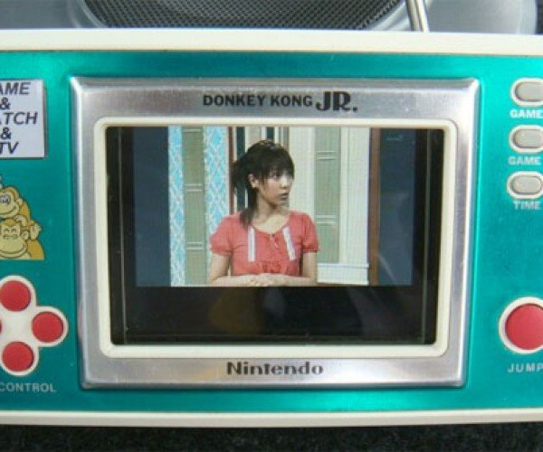 Nintendo Game & Watch (& Television) Casemod