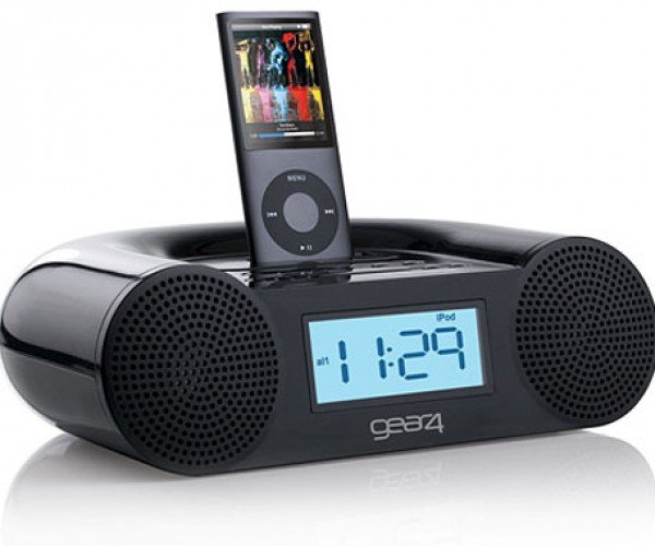 Gear4 Crg-60 iPod Clock Radio Lets You Choose How It Will Ruin Your Sleep