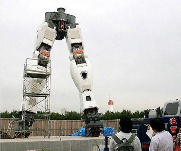 Gundam Statue Being Erected in Tokyo: Why Can'T Stuff Like This Happen Where I Live?
