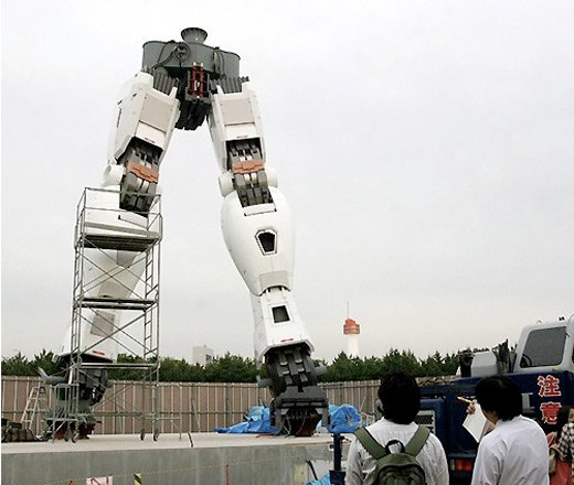 Gundam Statue Being Erected In Tokyo Why Can T Stuff Like