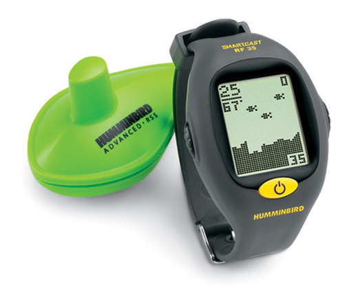 humminbird rf35 wrist wearable gps fish finder perfect for bears, Fish Finder