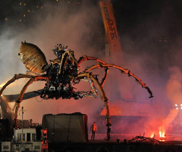 La Machine Street Theater'S Giant Robot Spiders: Japan Approves of These 'Bots