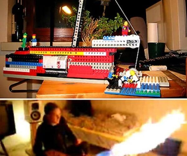 LEGO Flamethrower Will have You Shitting Bricks