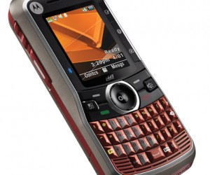 Motorola'S Clutch I465 Mobile Lets You Multitask Like Manny Pacquiao