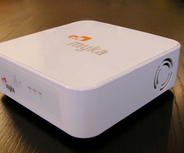 Myka Open-Source Bittorrent Capable Media Receiver Eager to Take a Bite Out of Apple Tv