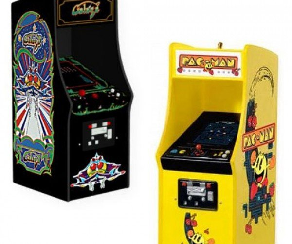 Pac-Man and Galaga Ornaments Perfect for Any Holiday