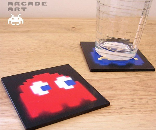 Pac-Man Ghost Coasters: Blinky, Meet Drinky.