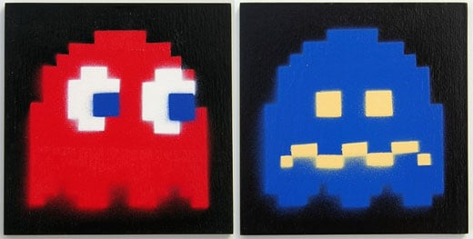 pac man ghosters