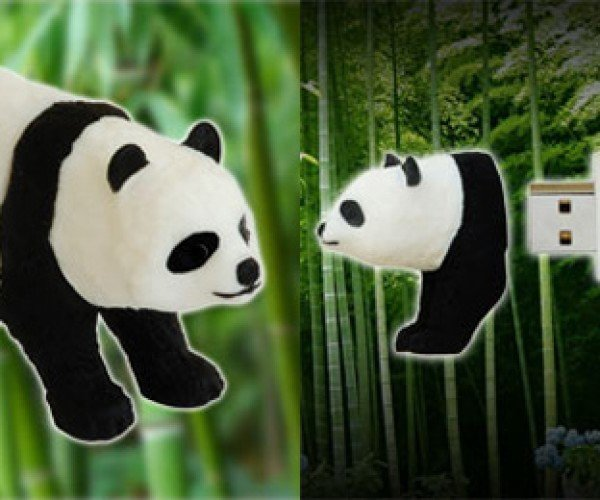 Panda Flash Drive: Buy a Rubber Panda, Help Save a Real Panda