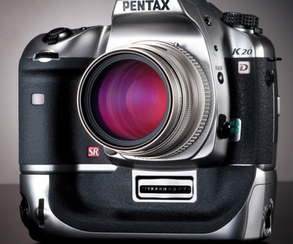 Pentax K20d Digital Camera Gets the Titanium Treatment