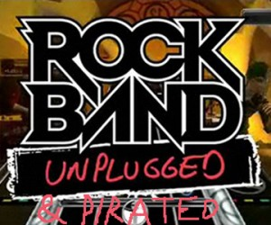 Rock Band Unplugged for the Psp Leaked on Torrent Sites