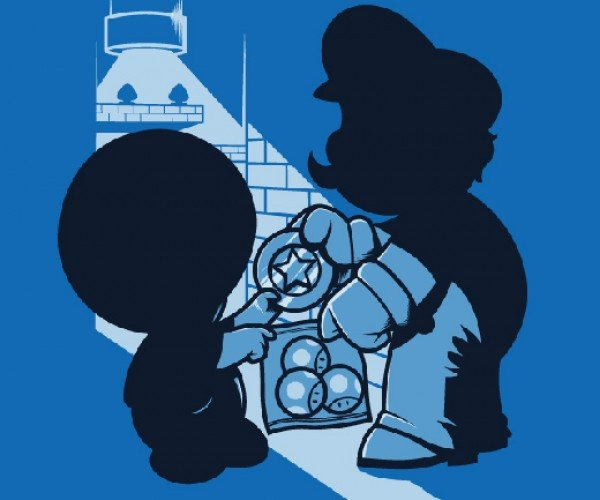 Magic Mushrooms Shirt: Mario Caught in a Shady Shroom Deal