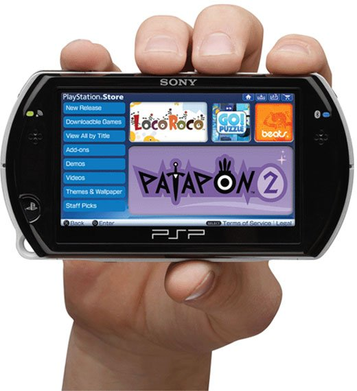 sony psp go closed