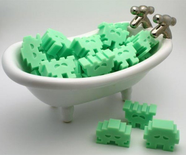 Space Invaders Soaps Take Over Bathrooms Everywhere