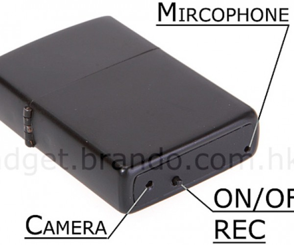 "Lighter Spy Camcorder Equipped With Amazing ""Mircophone"" Technology"