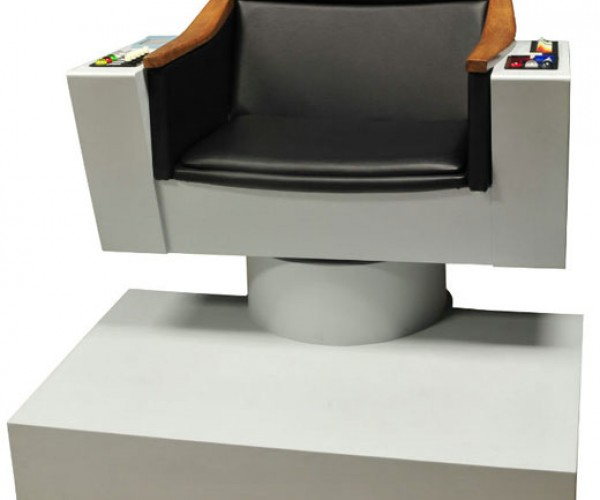 Captain Kirk's Chair: for the Ultimate Trekkie Decorator