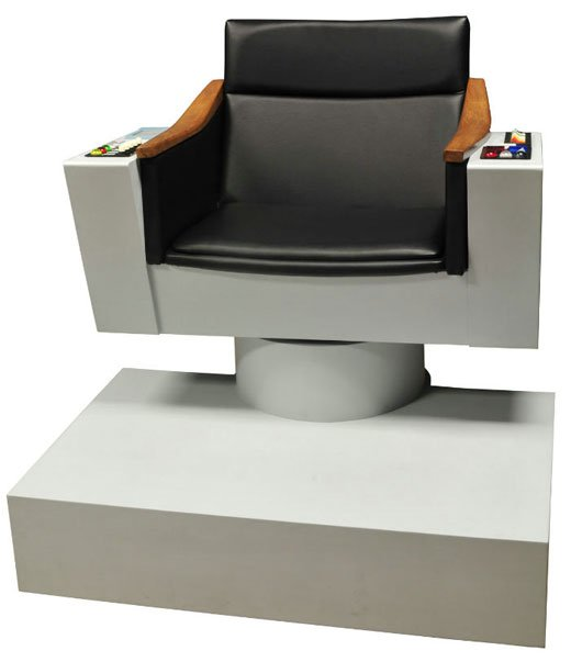 star trek captains chair