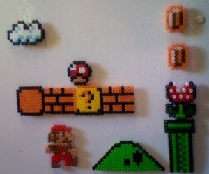 Super Mario Fridge Magnets: 8-Bit Kitchen Fun