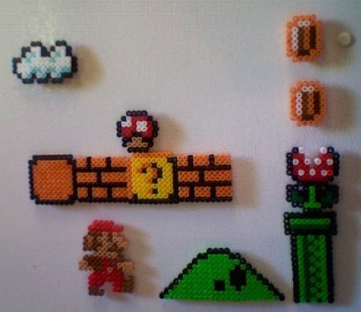 Super Mario Fridge Magnets: 8-Bit Kitchen Fun