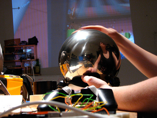 diy trackball sphere katamari damacy controller
