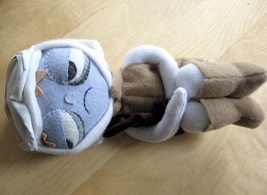 stitch wars star wars tauntaun luke plush