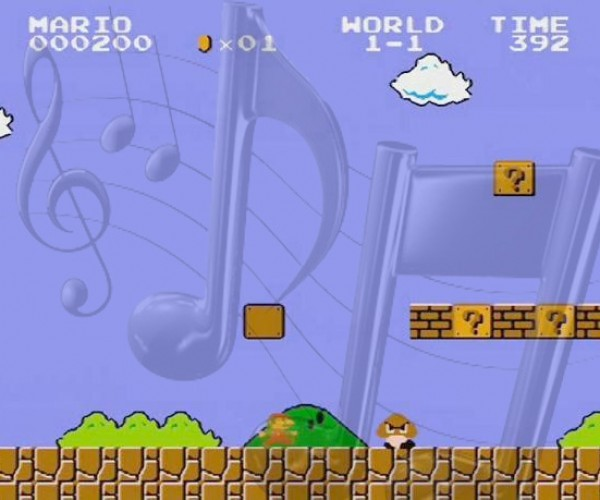 Thumb Callouses Are So Over: Super Mario Bros Controlled With Music