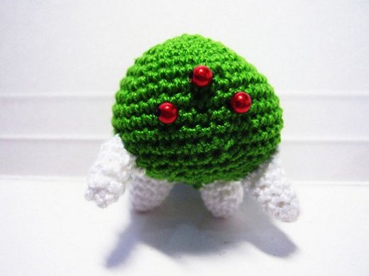 metroid crochet amigurumi
