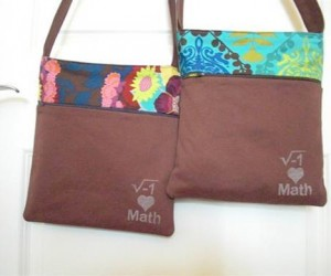 Adorable Girly Bags and Math-Love Are Not Mutually Exclusive of One Another