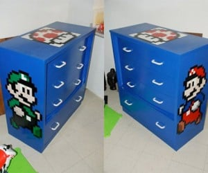 Super Mario Bros. in the Bedroom