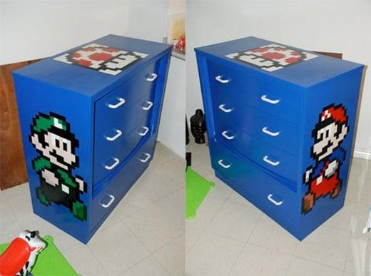 mario luigi dresser