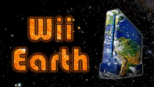wiiearth google earth homebrew maps