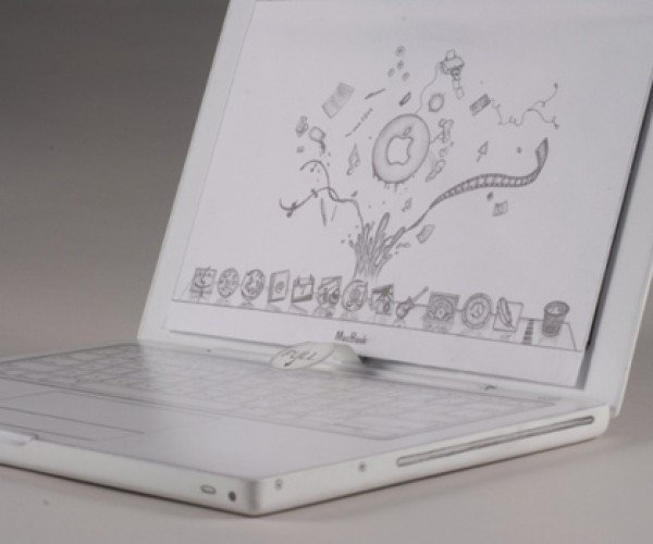 World'S Slowest Macbook is Carved Out of Wood