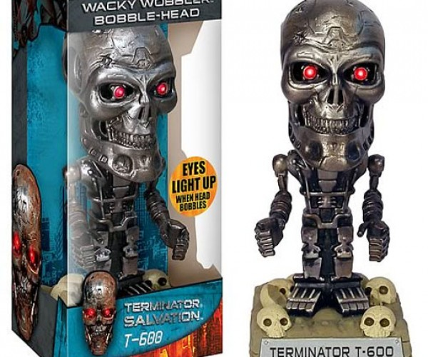 Terminator Salvation Bobble-Head Almost as Bad an Idea as a 4th Terminator Movie