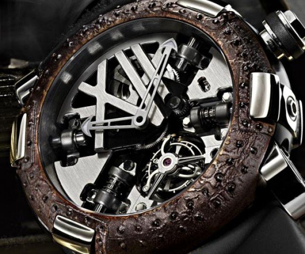 "Romain Jerome Steampunk Watch With ""Titanic Dna"": Rust is the New Diamond"