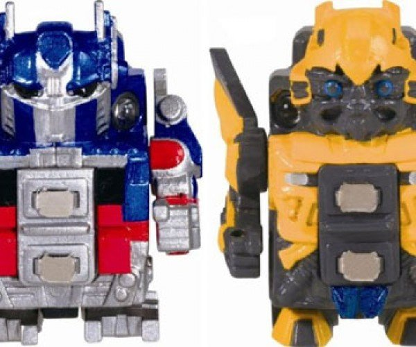 Robo-Q Optimus Prime and Bumblebee: Tiny Transformers
