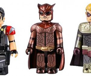 Watchmen Kubrick Minifigs Put a Smile on Your Face