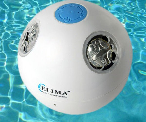 Waterproof Bluetooth Speaker Goes for a Swim