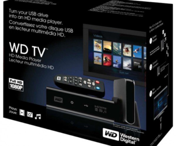 Wd Tv HD Media Player Should be Integrated Into All Hdtvs