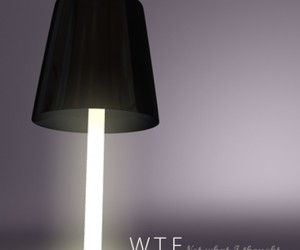 Wtf Lamp Concept: Amusingly Blinding