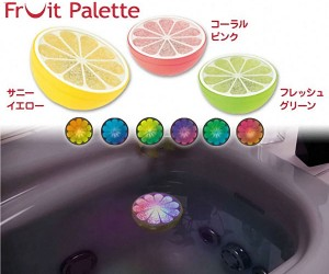 Banpresto Fruit Palette: Float Some LED Citrus in Your Bathtub