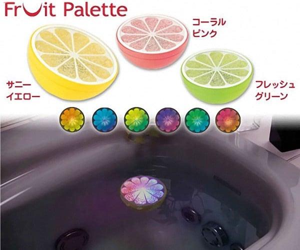 Banpresto Fruit Palette: Float Some LED Citrus in Your Bathtub