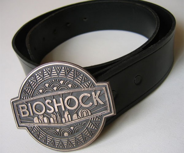 Bioshock Belt Buckle: How Splicers Keep Their Pants From Falling Down